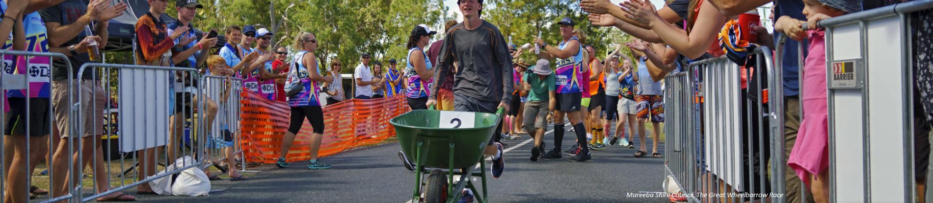 The Great Wheelbarrow Race