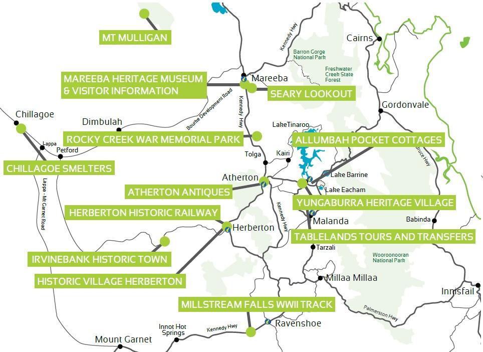 Atherton Tablelands Heritage Trail