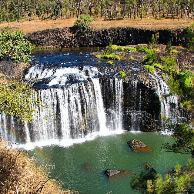 Atherton Tablelands World War 2 Trail - Millstream Falls by @jodielbray