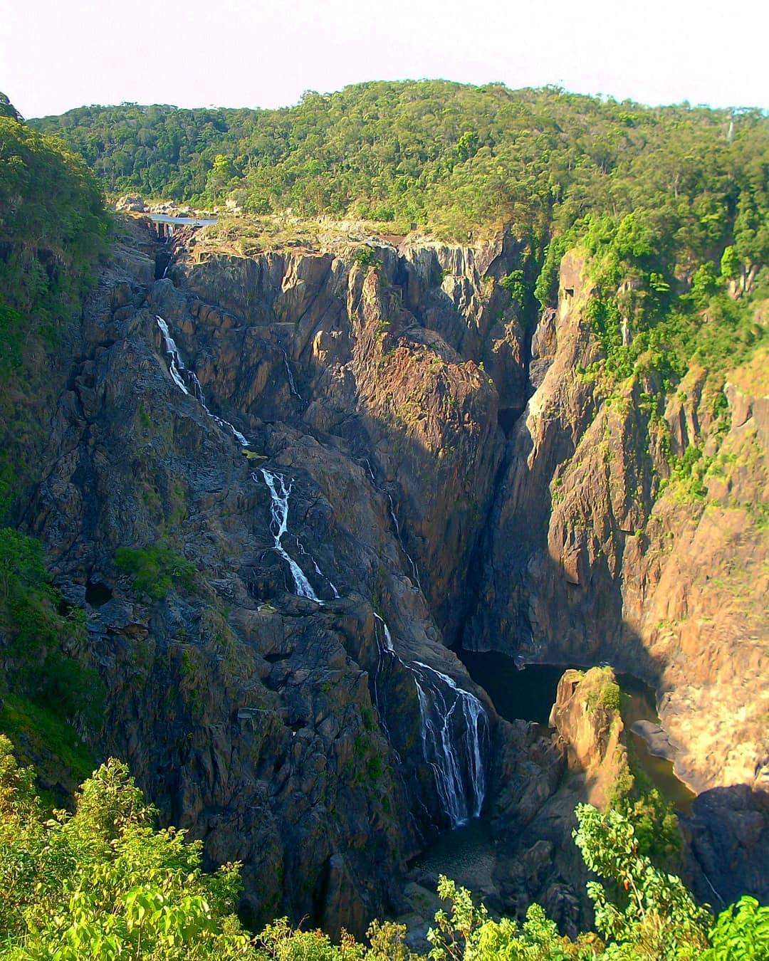 6 Top Spots- Lookouts To Look For - Barron Falls Lookout by statesnbeyond