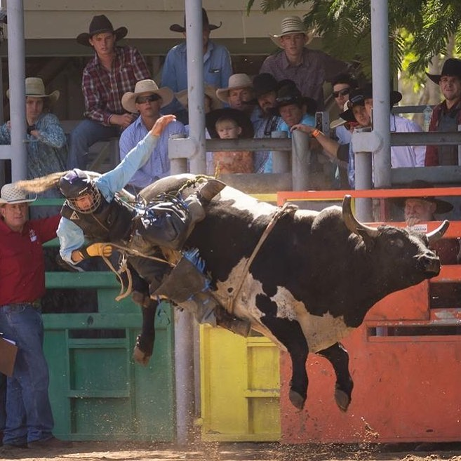 7 Family Friendly Things to Do on the Atherton Tablelands - Mareeba Rodeo Festival by @rellbell45