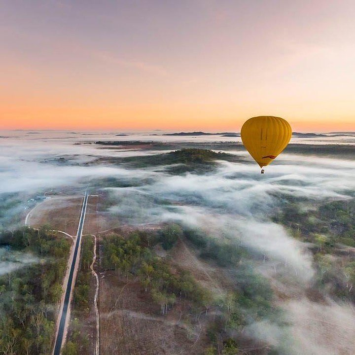 October Impressions of the Atherton Tablelands - Hot Air Ballooning