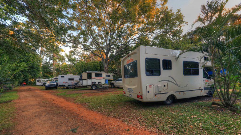 Lake Eacham Caravan Park